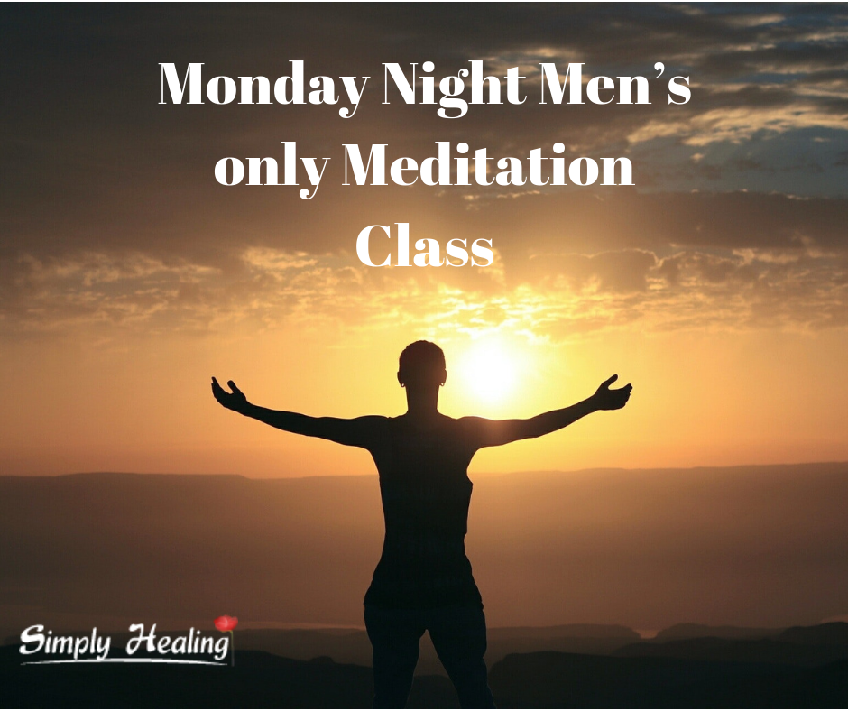 Monday Night Men's only Meditation Class